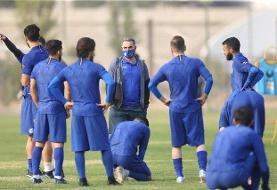 استقلال از فردا در زمین تهرانسر تمرین میکند