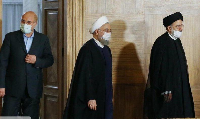 رهبر ایران به سران سه قوه اجازه داد در جلسات مشترک با اختیار کامل، برای عبور از شرایط جاری کشور تصمیم بگیرند