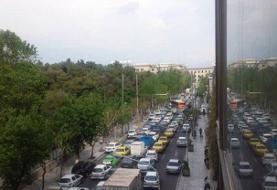 ترافیک سنگین در ورودی پایتخت