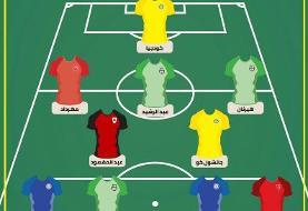 دو بازیکن ایرانی در تیم منتخب هفته لیگ ستارگان قطر