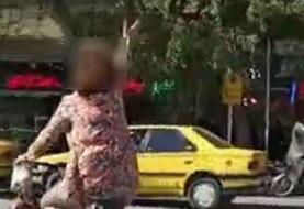 زن دوچرخهسوار نجفآبادی دستگیر شد/ عکس