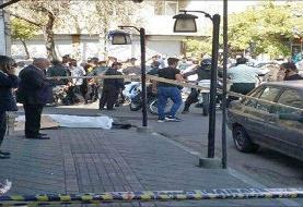 مرگ عابرپیاده در دستبرد مسلحانه به طلافروشی
