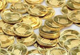 قیمت سکه در ادامه روند نزولی وارد کانال ۱۳ میلیون تومان شد