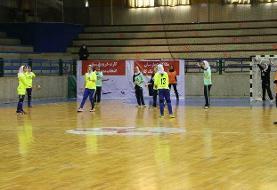 لیگ برتر هندبال زنان/ برتری سپاهان مقابل کربنات در غیاب مهرههای کلیدی