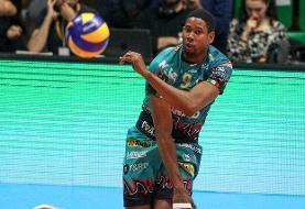 لئون از زایتسف هم گذشت/ ستاره لهستان رکوردار سرویس سرعتی والیبال جهان