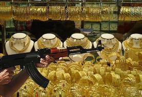 فیلم | شلیکهای دیوانهوار در سرقت مسلحانه از طلافروشی در تبریز