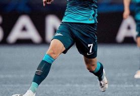 (عکس) پست متفاوت سردار آزمون بعد از شکست در لیگ قهرمانان اروپا