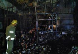 علت دود غلیظ در پایتخت مشخص شد | آتشسوزی در میدان امامخمینی تهران
