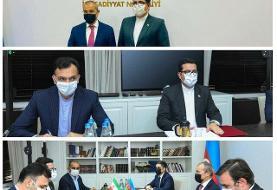 دیدار سفیر ایران در باکو با وزیر اقتصاد جمهوری آذربایجان
