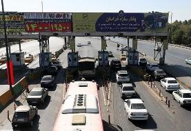 ترافیک سنگین در ورودی و خروجیهای مشهد