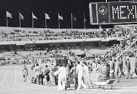 حرکت ماندگار کشاورز تانزانیایی در المپیک مکزیکو سیتی