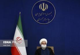 آغاز مراسم افتتاح پروژه های وزارت راه و شهرسازی توسط روحانی