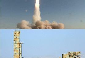 تصاویر | لحظه شلیک موفق موشک بومی باور ۳۷۳ و انهدام هدف