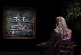حراج ۱۰ میلیون دلاری نقاشی بنکسی در لندن