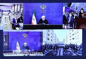 روحانی: ۱۰۰ هزار واحد مسکن مهر یا مشکل دارد یا متقاضی ندارد