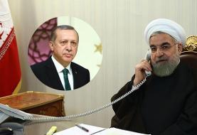 گفتوگوی روحانی و اردوغان درباره بحران قرهباغ