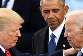 حمله شدید اوباما به ترامپ؛ او مانند دیوانهها رفتار میکند