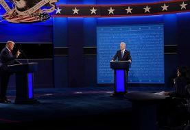حاشیههای آخرین مناظره ترامپ و بایدن؛میکروفونهای خاموش! | ترامپ حسابی تمرین کرده بود؟
