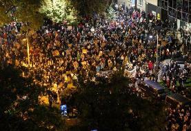 هزاران معترض به قانون منع سقط جنین لهستان به خیابانها آمدند