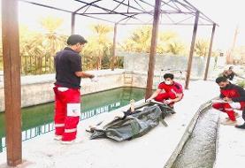 پسر ۱۶ ساله در خاییز غرق شد