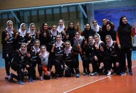پایان هفته نخست لیگ والیبال زنان در گروه اول/ سایپا برد و صدرنشین شد