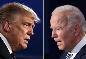اختلاف ۱۰ درصدی ترامپ و بایدن در نظرسنجیها | کدام رئیس جمهور میشوند؟