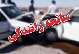 تصادف در جاده اهواز به هفتکل ۴ فوتی و یک مصدوم داشت