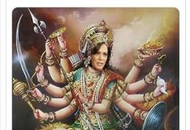 (عکس) چگونه کامالا هریس الهه هندو شد!
