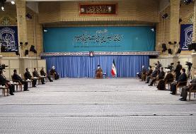 جلسه ستاد ملی مقابله با کرونا در حضور رهبر انقلاب/ اولین دیدار در بیت رهبری پس از ۸ ماه + عکس