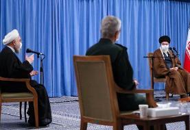 آیتالله خامنهای 'هتک حرمت' رئیسجمهور را 'حرام' و انتقادهای اخیر را 'غلط' دانست