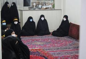 تصاویر حضور جمعی از نمایندگان مجلس در منزل شهید امر به معروف