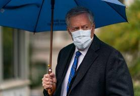 US 'not going to control' COVID-19 pandemic, White House Chief of Staff Meadows says