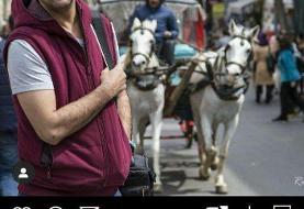 این محمد نادری تا ابد پرسپولیسی میماند! / عکس