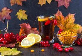 تغییر فصل و ویتامین درمانی