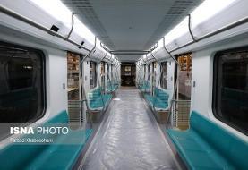 سطح داخلیسازی واگنهای مترو به ۸۵ درصد میرسد