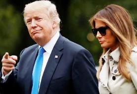 ویدئو | برگزاری جشنی جنجالی در کاخ سفید با حضور ترامپ و ملانیا