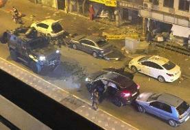 عکس | تصویری از مکان انفجار و بروز حمله تروریستی در ترکیه