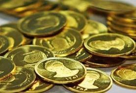 کاهش قیمت سکه و طلا در بازار امروز