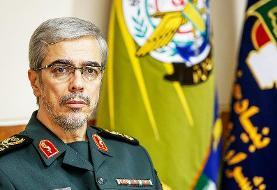 اظهارات مهم رئیس ستاد کل نیروهای مسلح درباره مذاکره ایران و آمریکا و احتمال جنگ بین دو کشور