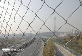 ذرات معلق کیفیت هوای پایتخت را کاهش داد