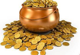 قیمت طلا و سکه ۱۸ عیار در ۵ آبان ماه