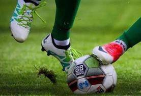 توقف تیم فوتبال فولاد خوزستان مقابل نفت مسجدسلیمان