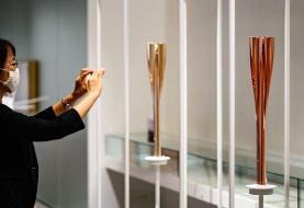 مشعل بازیهای المپیک وپارالمپیک به نمایش عمومی گذاشته میشود