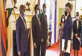 رایزنی سفیر جدید ایران با رییسجمهور زیمباوه
