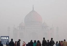 ویدئو / ملاقات مرگبار کرونا و آلودگی هوا در هند