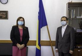 دیدار سفیر کشورمان در بوسنی و هرزگوین با وزیر امور مدنی این کشور