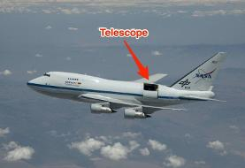 NASA used a Boeing 747 rigged with a massive telescope to discover water on the moon — take a ...