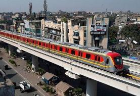 آغاز فعالیت اولین خط مترو در پاکستان