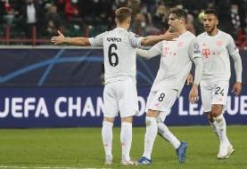 لیگ قهرمانان اروپا | پیروزی دشوار بایرن مونیخ در مسکو