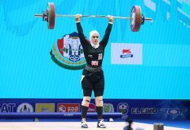 دعوت زن وزنه بردار از کهگیلویه و بویراحمد به اردوی تیم ملی